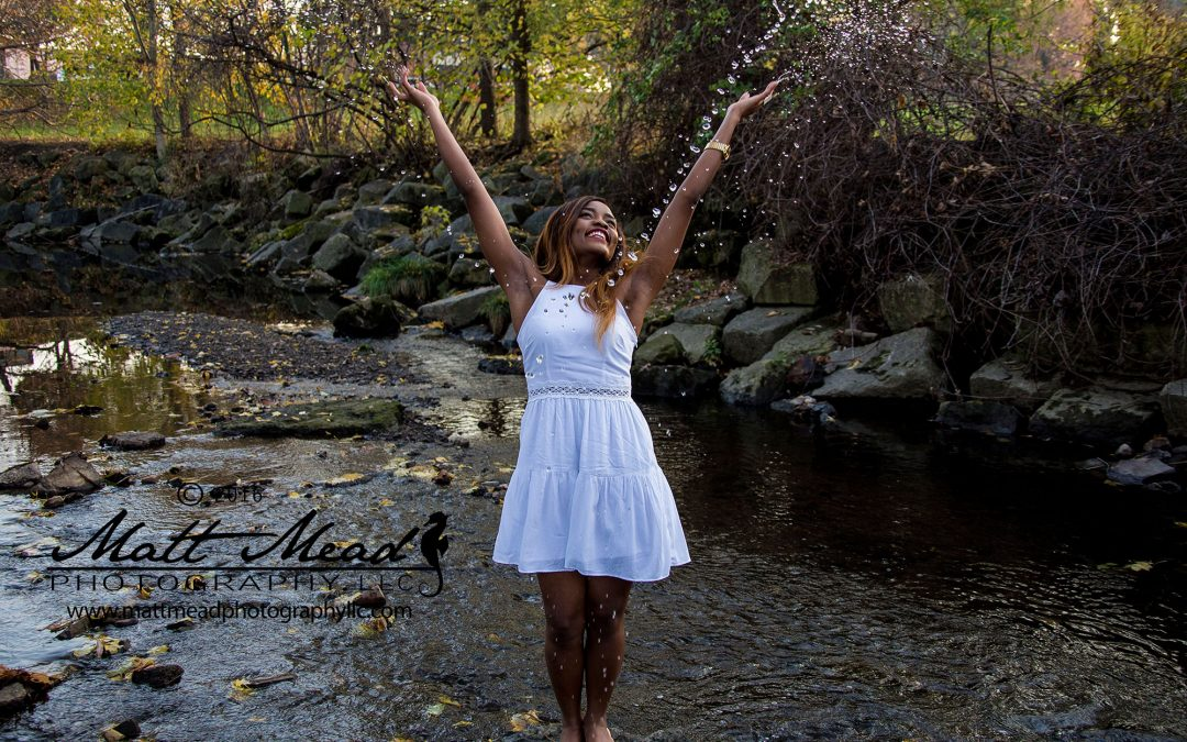 Bernice Rocks Her Erie PA Portrait Session | Matt Mead Photography